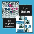 LOS SHAKERS-LOS INEDITOS+LA VIGENCIA-60s Uruguayan PSYCH GARAGE-NEW CD