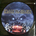 IRON MAIDEN-ROCK IN RIO-LP PICTURE DISC NEW