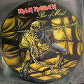 IRON MAIDEN-PIECE OF MIND-NEW LP PICTURE DISC