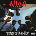 N.W.A-Straight Outta Compton-'88 Hip Hop Gangsta-NEW LP 180gr+DL