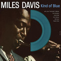Miles Davis-Kind Of Blue-'59 JAZZ CLASSIC-NEW LP DIE CUT COLORED