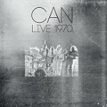 Can-Live 1970-new 2LP SILVER VINYL