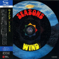 WIND-SEASONS-'71 German psych rock-NEW CD MINI LP REPLICA