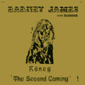 Barney James With Warhorse-Köneg 'The Second Coming'-'75 UK Prog-NEW LP