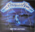 Metallica-Ride The Lightning-'84 Thrash Speed Metal-NEW LP YELLOW VINYL