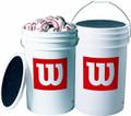 Wilson A1098XOUT 3 Dozen Baseballs in Bucket