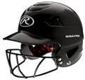 Rawlings RCFHFG Coolflo Batting Helmet with Face Guard
