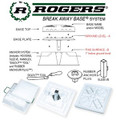 Rogers RBBS-Y Break Away Base(R) System Youth