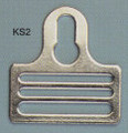 "1-1/2"" Key-Hole Fastener, Steel"
