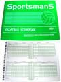 Sportsman'S Volleyball Scorebook
