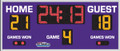 All American 8606 Volleyball Scoreboard