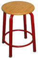 Clarin 124W Wooden Stool