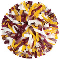 Getz SW11SP3 3 Color Plastic Mix Youth Poms