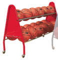 Bison Heavy Duty 18 Basketball Cart