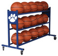 KBA Basketball Mascot Rack