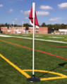 Rubber Base Corner Flags