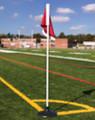 Rubber Base Corner Flags