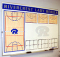 KBA Custom Wall Mount Whiteboard