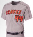 A4 Warp Knit Baseball Jersey