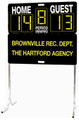 Sportable MD-1 Manual Display Portable Scoreboard