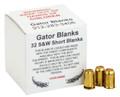 Gator .32 Caliber Black Powder Blanks
