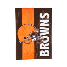 """This garden size flag is designed with nylon fabric with tight, detailed machine stitching. Double-sided so it reads correctly on both sides with applique technique layering. Dimensions: 12.5""""Wx 18""""L Material is fade and weather resistant. Flags can be hung on garden flag pole / stands, sold separately."""