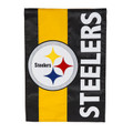 Pittsburgh Steelers Embellish House Flag FL