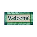 Irish Welcome Sassafras Mat