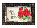 """Full Description: Can be used stand-alone or as interchangeable inserts in our MatMates™ Doormat Trays (as shown, sold separately). Non-slip recycled rubber backing. Approx. 18"""" x 30""""."""