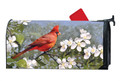 """Full Description: This MailWraps® magnetic mailbox cover is pre-cut to fit a standard (T1) rural mailbox 6 1/2"""" wide x 19"""" deep. UV-printed for vivid color reproduction and exceptional durability. Made in USA. Mailbox not included."""