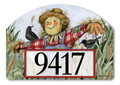 Proudly made in the USA, Yard DeSigns® interchangeable magnetic yard signs are the perfect outdoor decor accent. Use with our Metal Ornamental Posts or Yard Stakes and change out for every season! Each magnet is UV-printed for beautiful, vivid color reproduction and exceptional outdoor durability.  This Yard DeSign magnet comes with easy-to-apply adhesive vinyl numbers so you can personalize with your address!