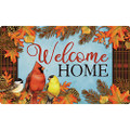 Autumn Songbirds Mat