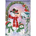 Happy Snowman Family (Large)