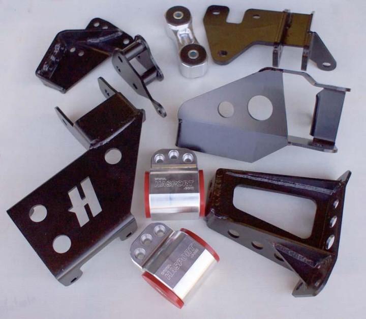 "Hasport Billet K-series ""Gangsta Lean"" Engine Mount Kit EG"