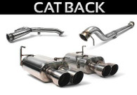Perrin Cat-Back Exhaust Non-Resonated System for 2011-17 WRX/STI Sedan