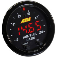 AEM X-Series Wideband UEGO AFR Sensor Controller Gauge; w/ X-Digital Technology