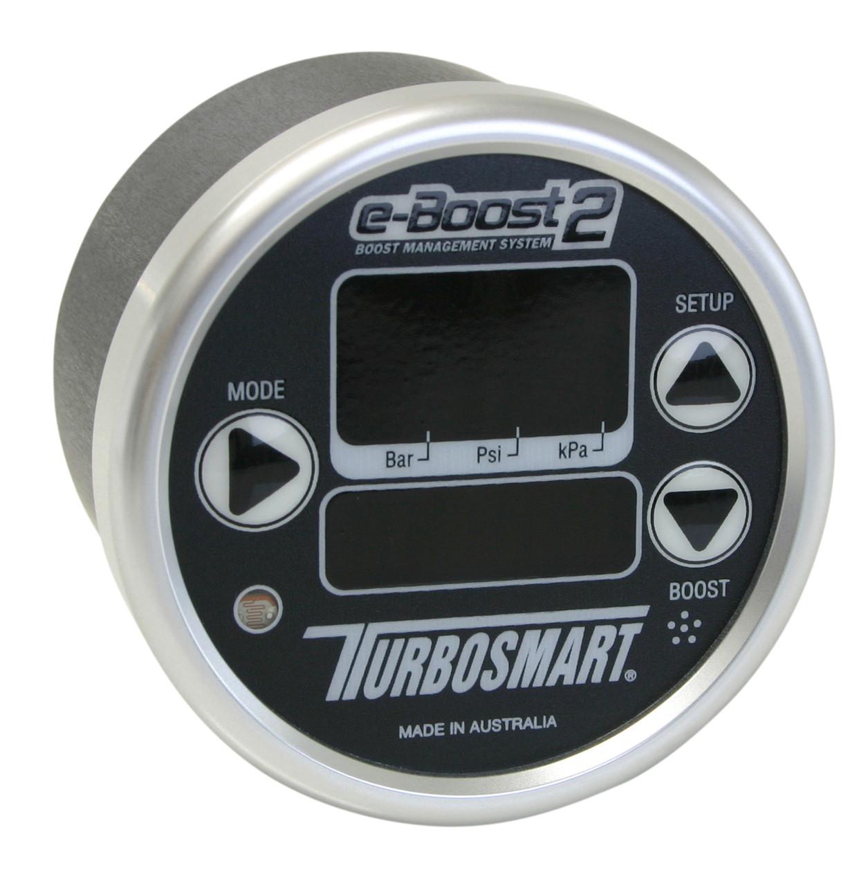 Turbosmart EBoost2 60mm Black Silver