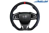 Buddy Club Racing Spec Steering Wheel Carbon Civic 16+
