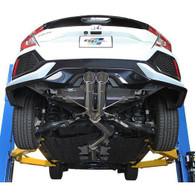 GReddy DD-R Catback Exhaust | 2017-2020 Honda Civic Type-R / Sport Hatchback