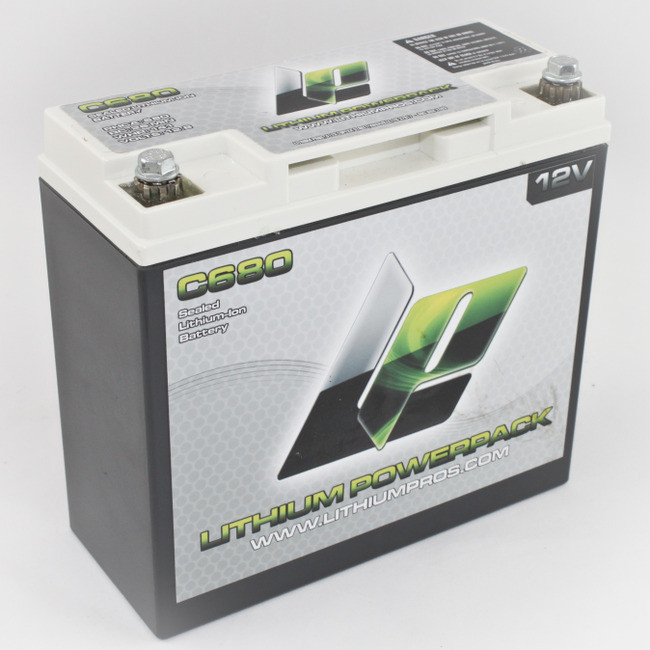 12V/11Ah Lithium Ion Battery