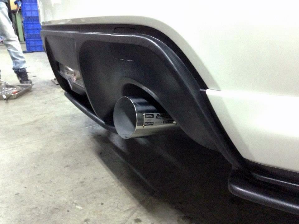 Buddy Club Spec II Exhaust FR-S/BRZ