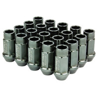 Godspeed Type 3 50mm Lug Nuts 20 pcs. Set M12 X 1.5 Gun Metal