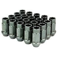 Godspeed Type 3 50mm Lug Nuts 20 pcs. Set M12 X 1.5 Gun Metal
