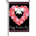 Valentine Wreath: Garden Flag