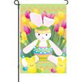 Springtime Bunny: Garden Flag