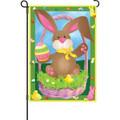 Bunny's basket: Garden Flag