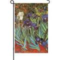 Van Gogh Irises: Garden Flag