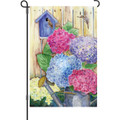 Colorful Hydrangeas: Garden Flag