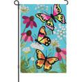 Fluttering Butterflies: Garden Flag