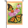 Monarch Summer: Garden Flag